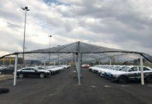Мрежи против градушка за автомобили